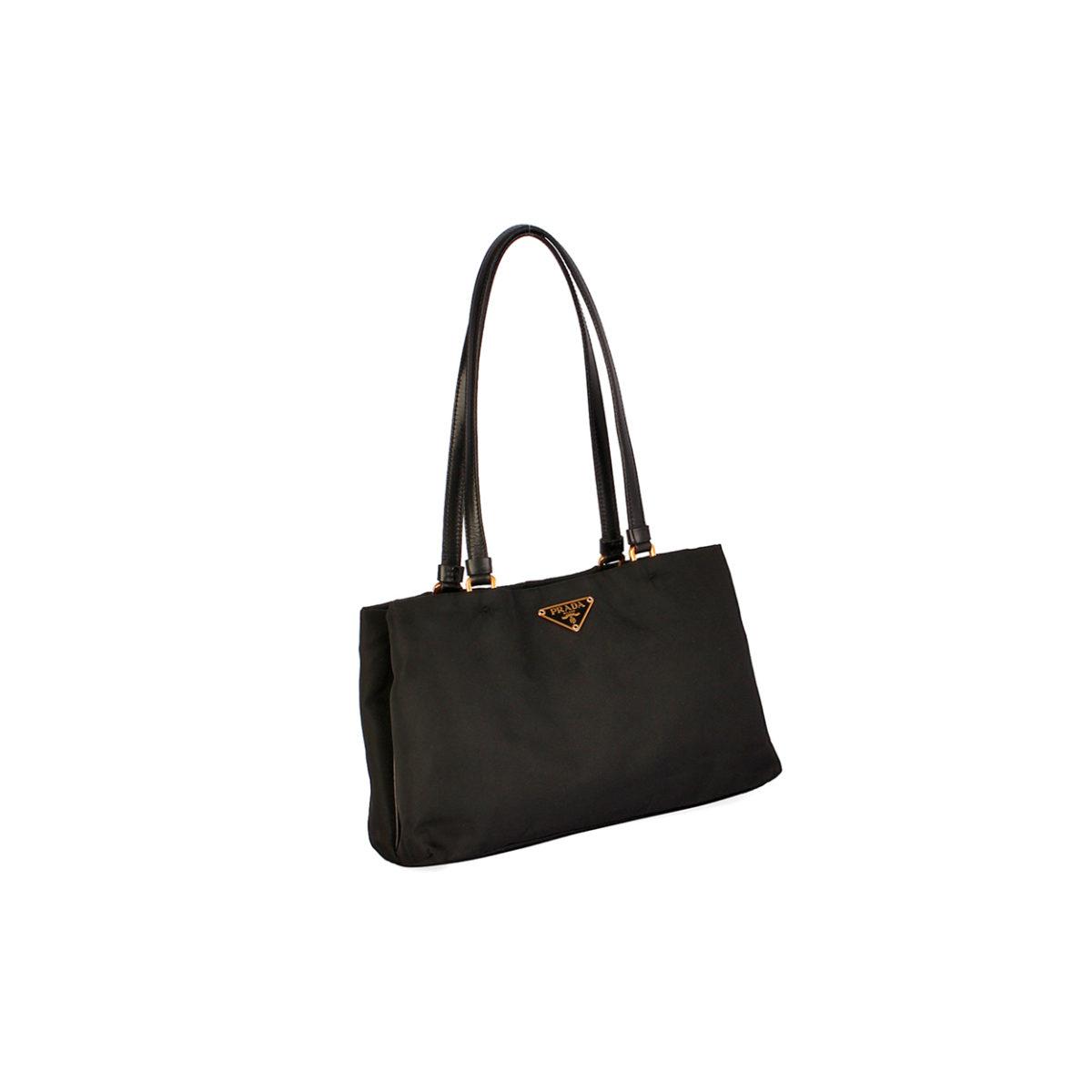 6caf1450ee14 PRADA Tessuto Sport Nylon Bag Black | Luxity