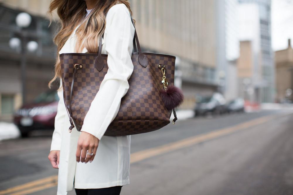 LV Damier Handbag