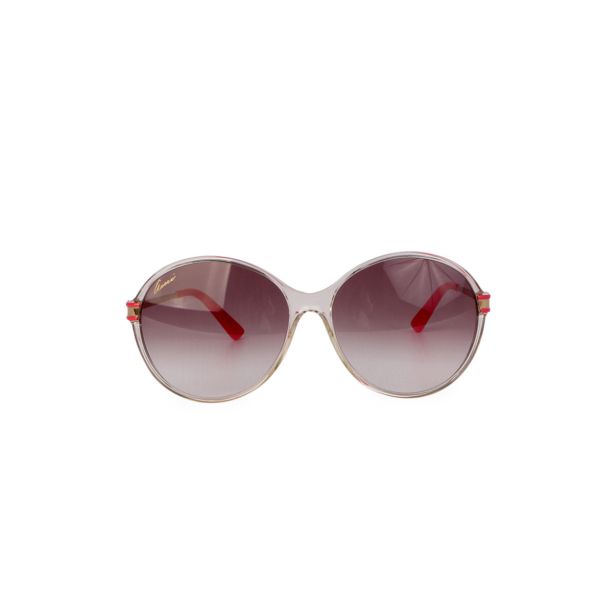 GUCCI Sunglasses Silver and Pink GG 3138/S | Luxity