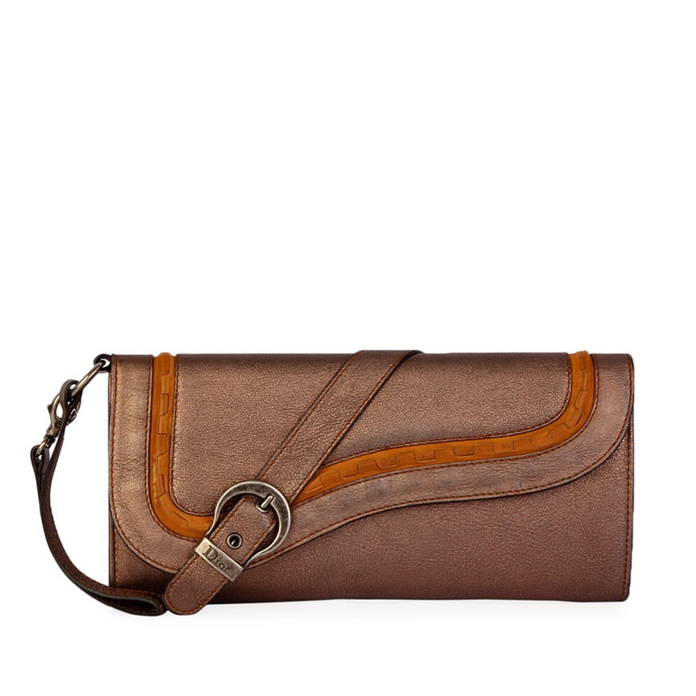b9ef87f02f28 CHRISTIAN DIOR Gaucho Evening Clutch