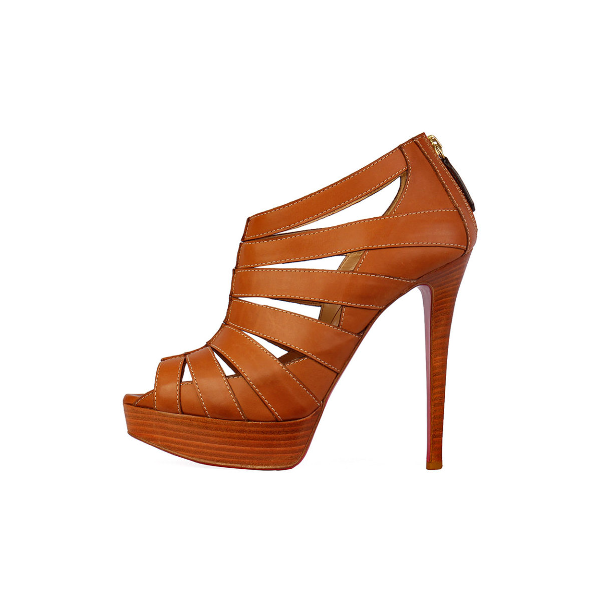 1325f026f7a CHRISTIAN LOUBOUTIN Pique Cire 140 Platform Heels – S  40 (6.5)