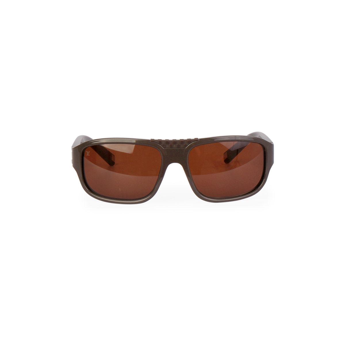 d5b48d68bd154 LOUIS VUITTON Enigme Sunglasses Z0341W Brown