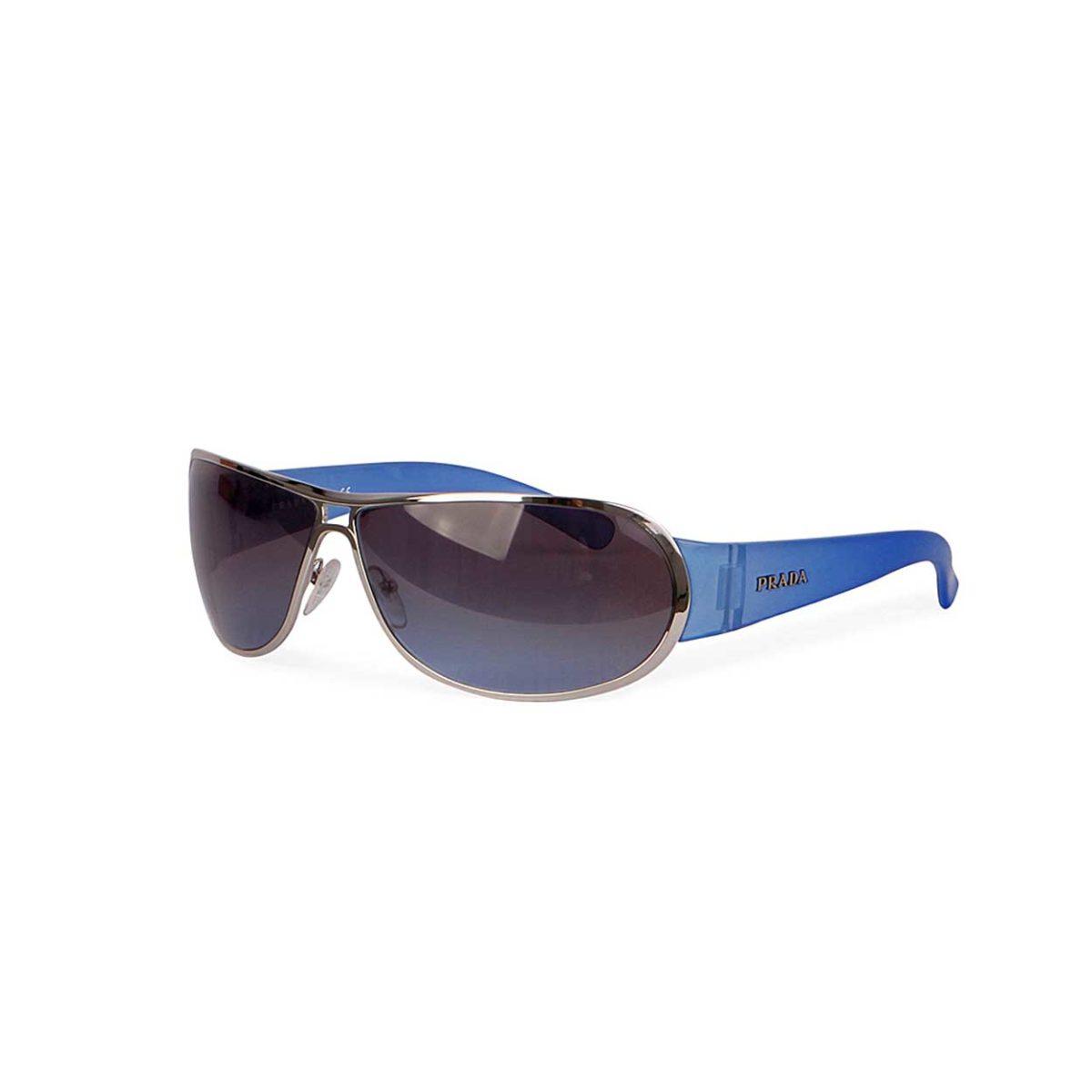 4ea0976679b9e PRADA Sunglasses SPR 70G Blue - New