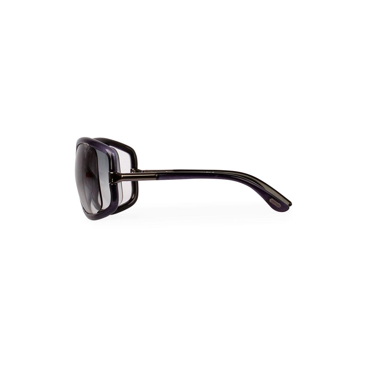 4d8ed454e9c TOM FORD Anais Sunglasses TF 125 Blue