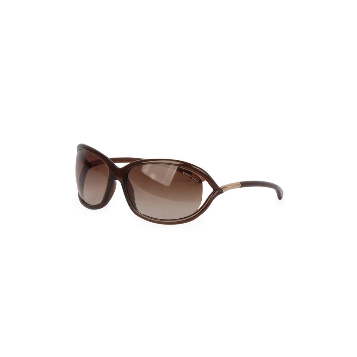 196b4ed8d87 TOM FORD Jennifer Sunglasses TF8 Brown - New