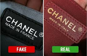 How to tell between a fake and real Chanel handbag