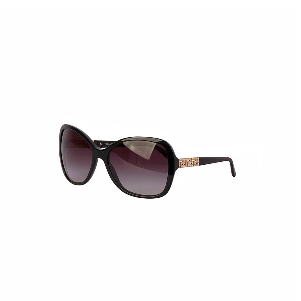 f07789bc7b1cb VERSACE Cat Eye Sunglasses 4271-B Black
