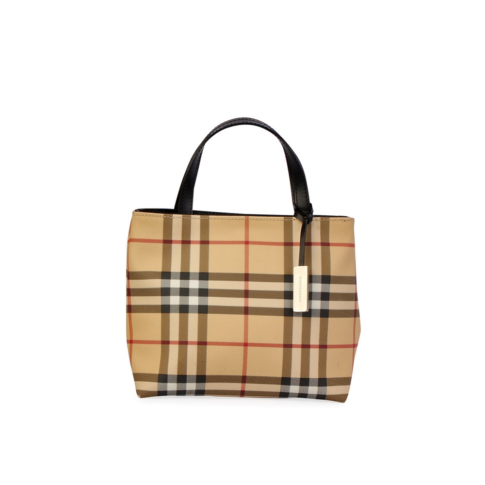 BURBERRY Nova Check Mini Tote Beige  bb292660324be