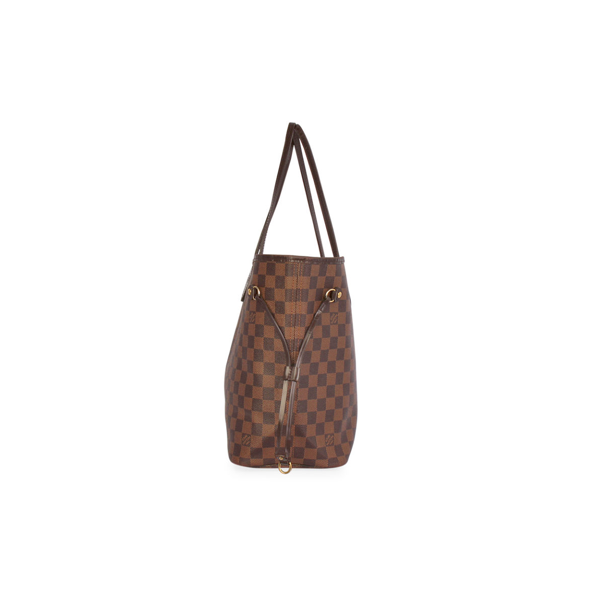 LOUIS VUITTON Damier Ebene Neverfull MM Luxity 0287ad8703352