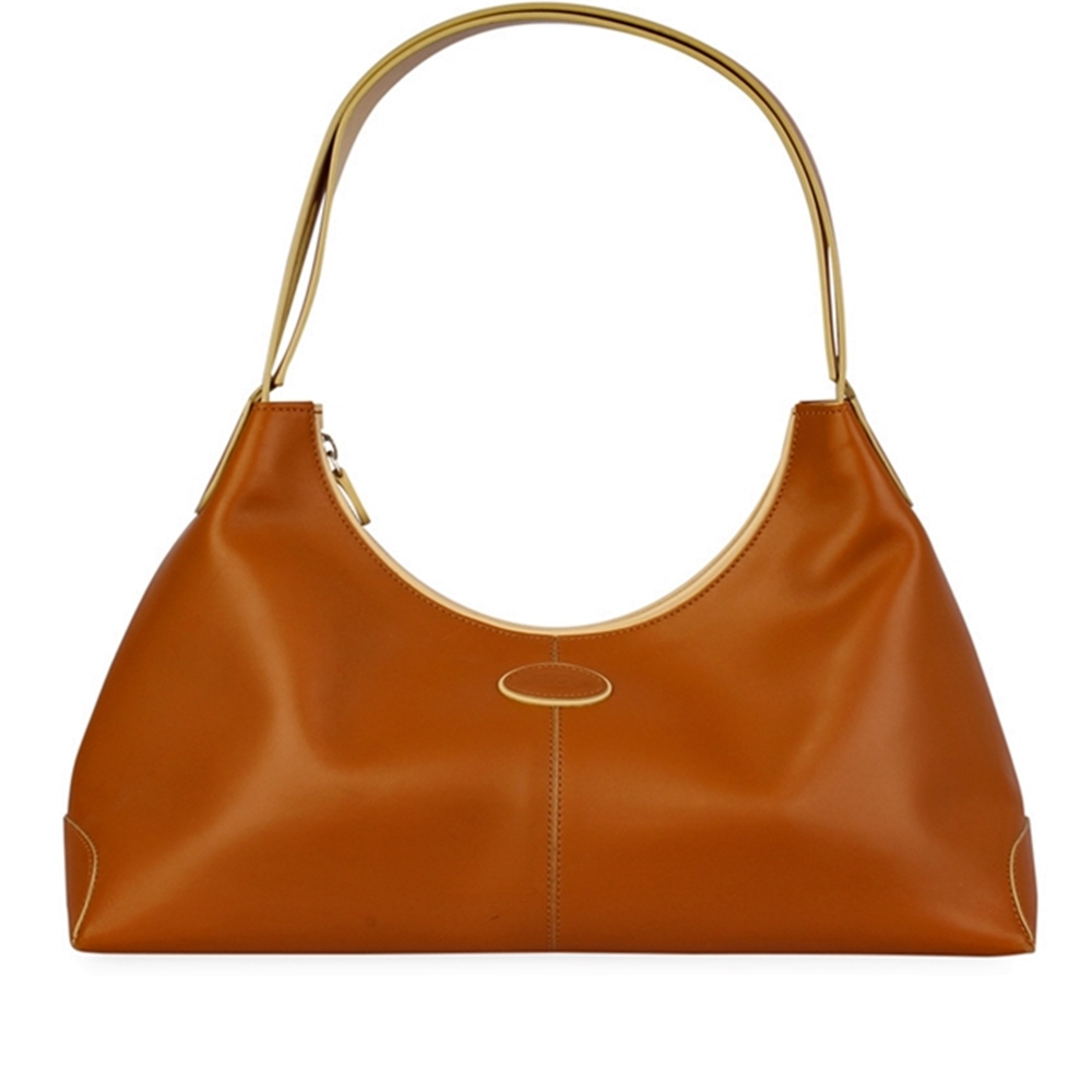 899575350b8 TOD'S Leather Shoulder Bag Tan | Luxity
