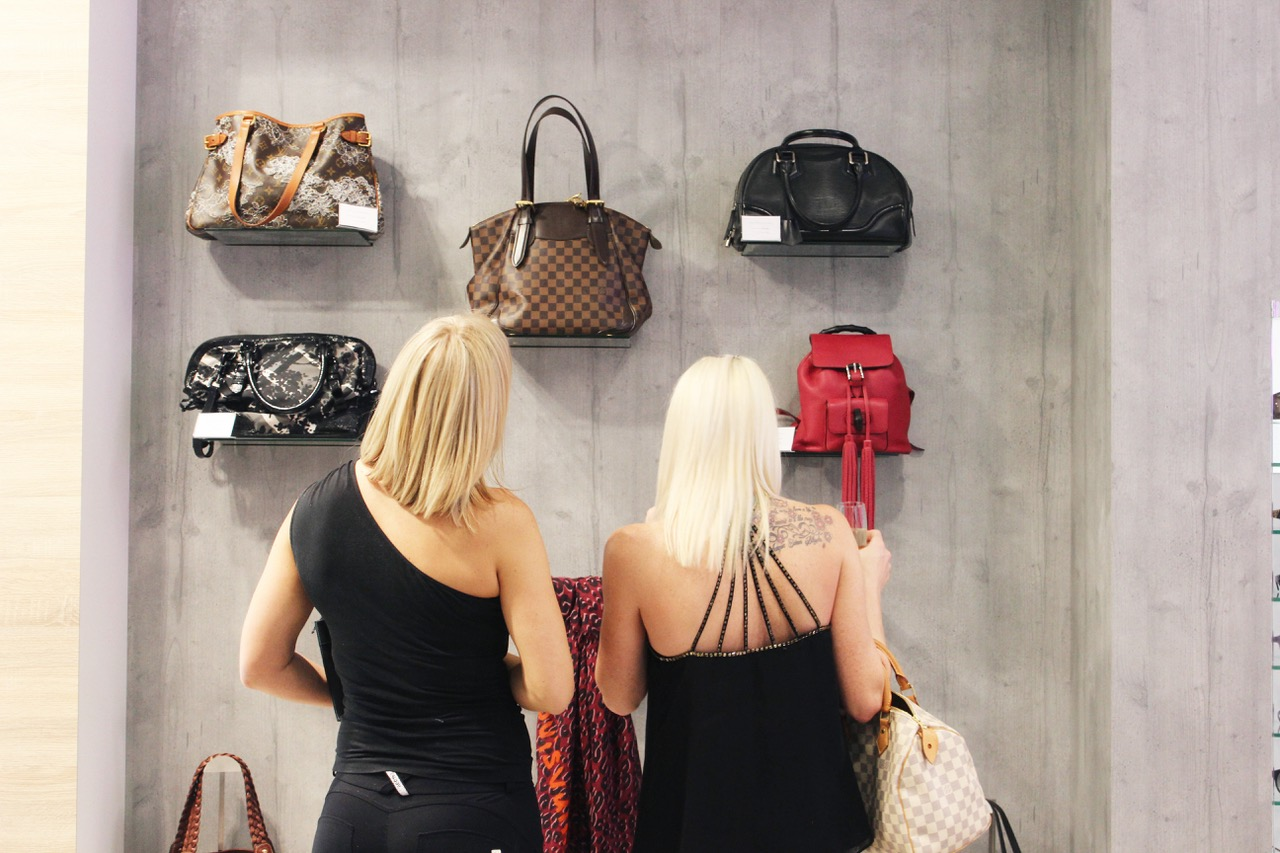 Buying second-hand handbags is better for the environment