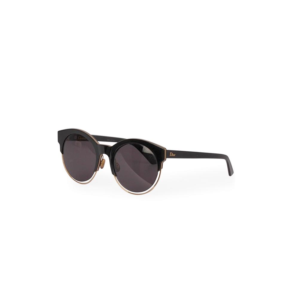 DIOR Sideral 1 Sunglasses SB312 Black   Luxity