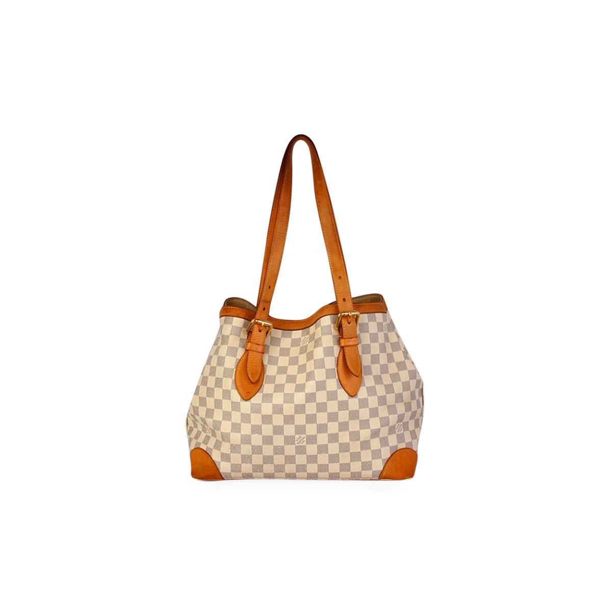 Hampstead Pre Owned >> LOUIS VUITTON Damier Azur Hampstead MM | Luxity