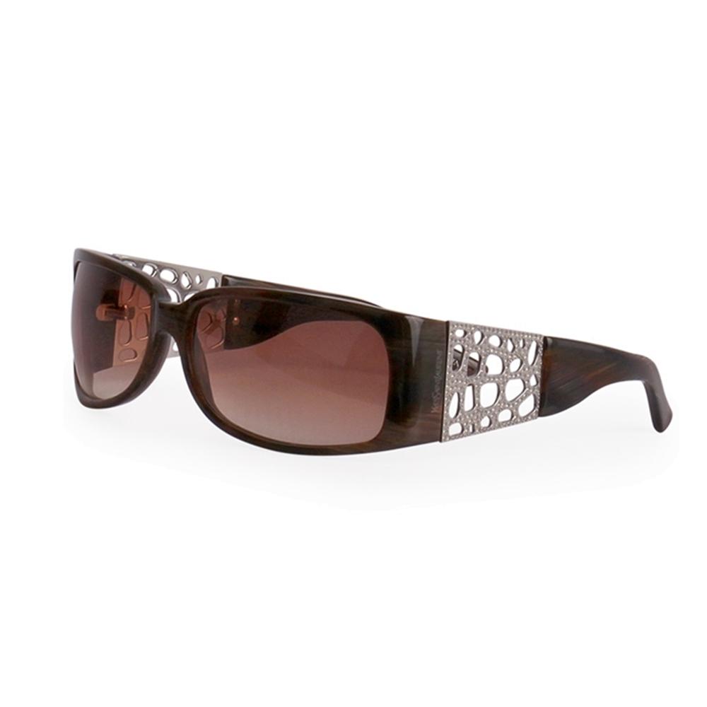 36dec1674d5 Yves Saint Laurent YSL Sunglasses 6267 S Brown | Luxity