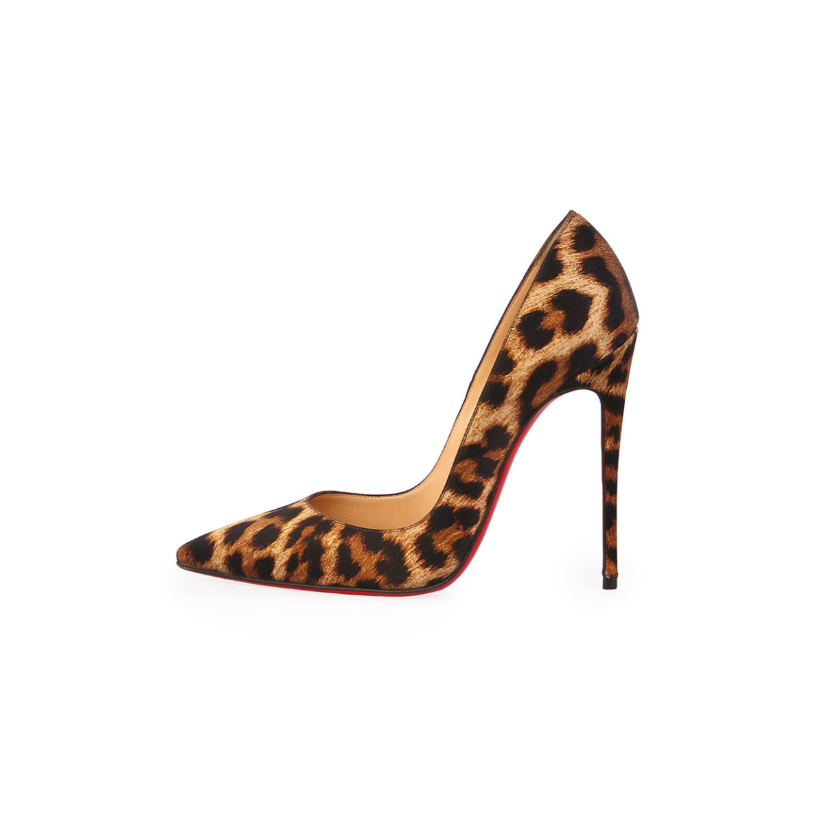 0671555bc82 CHRISTIAN LOUBOUTIN Satin So Kate 120 Pumps Leopard Print - S  36.5 ...