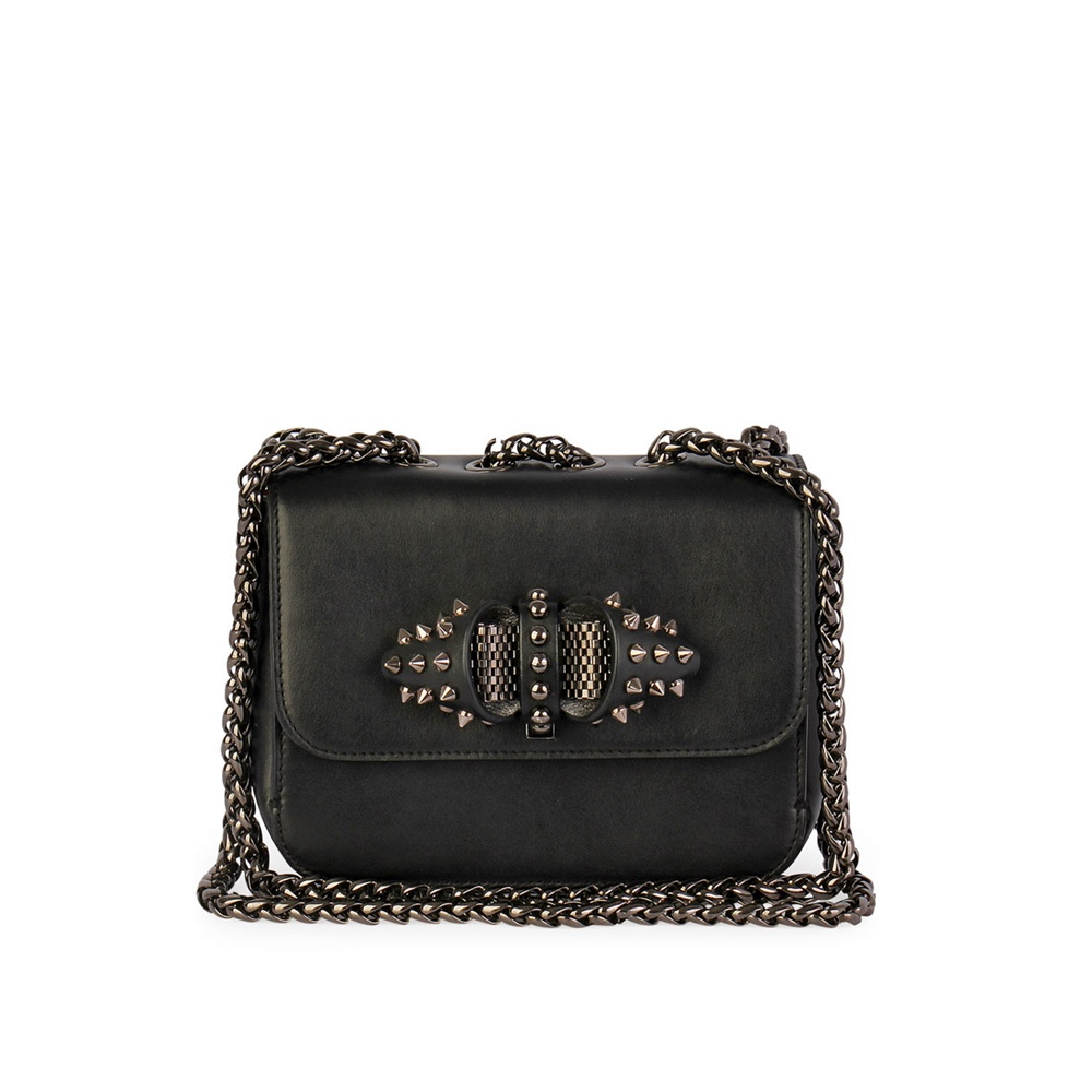 c889eb40f09 CHRISTIAN LOUBOUTIN Sweet Charity Medium Chain Bag