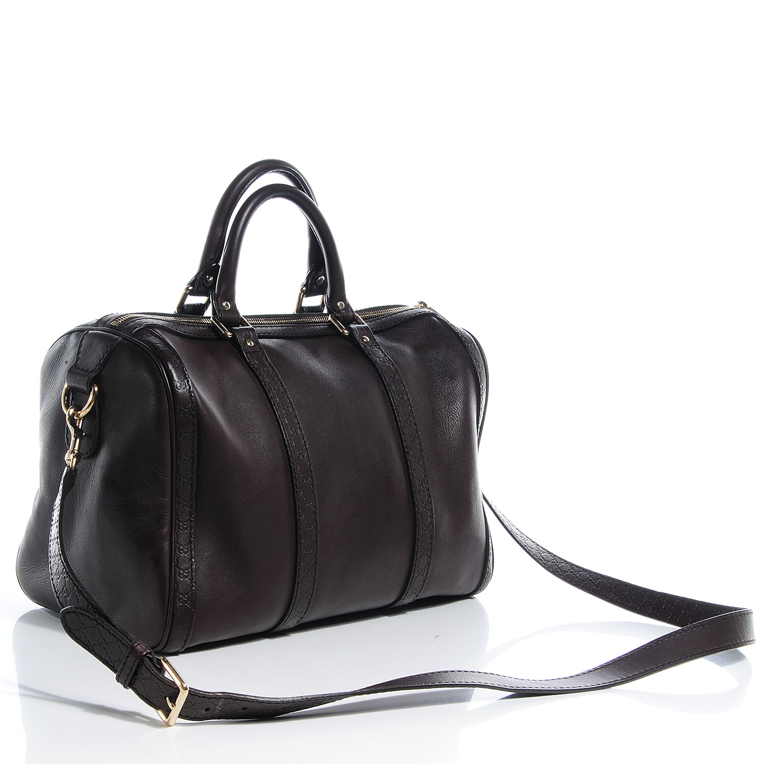 Microguccissima Leather Boston Price