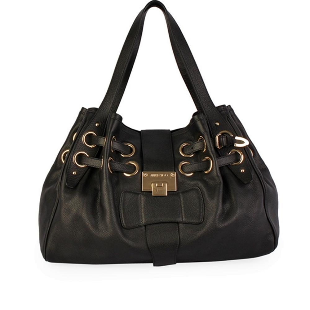 631c990252 JIMMY CHOO Leather Ramona Bag Black