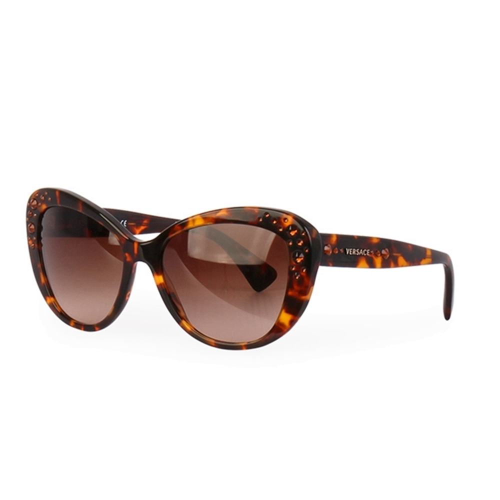 f24c75dedc VERSACE Cat Eye Sunglasses 4309 - B Brown