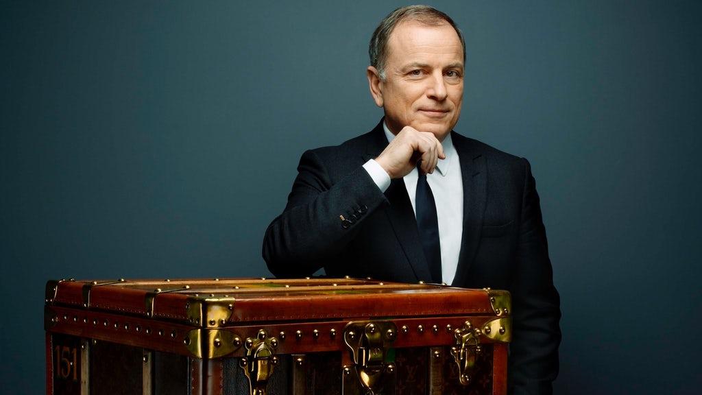 Michael Burke CEO Louis Vuitton