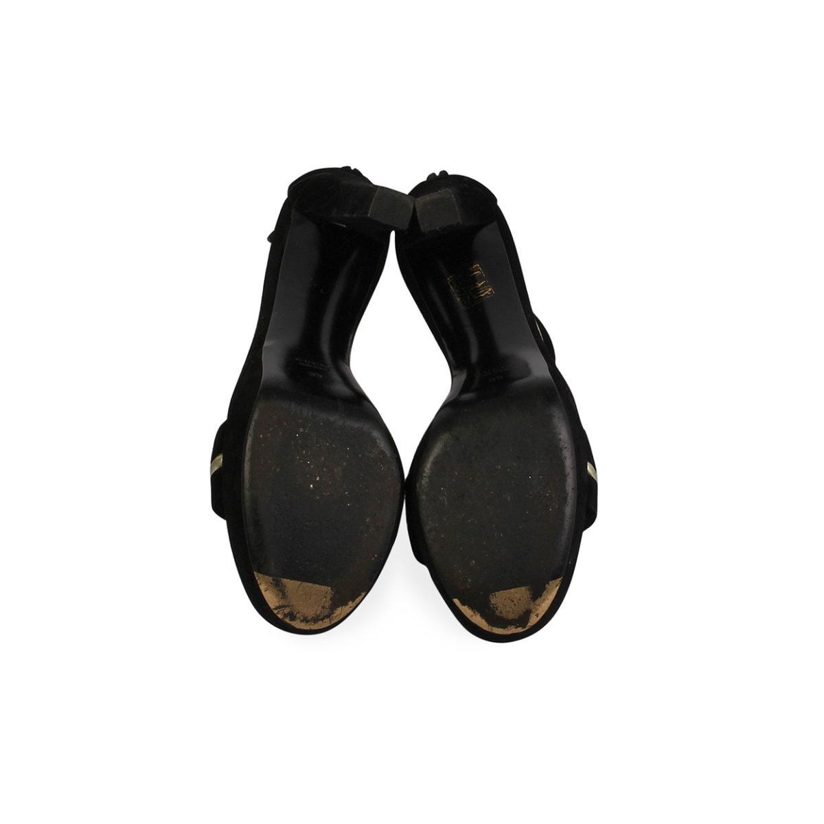 1b84ac70ee5 GUCCI Keira High Heel T-Strap Platform Sandal Black - S  39 (6)