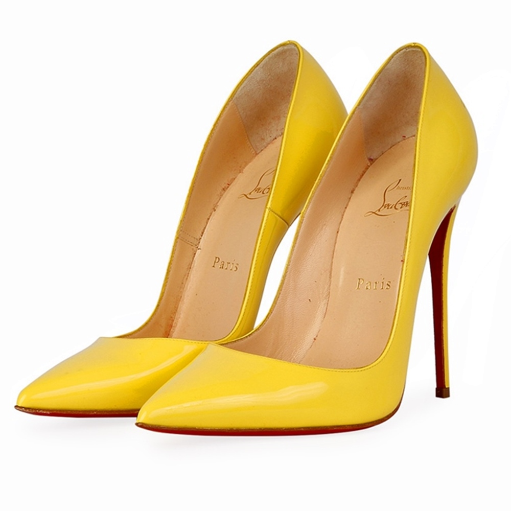 0e1083db5d2 ... coupon code for christian louboutin patent so kate 120mm pumps light  yellow b4944 e8aab