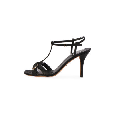 3b44bc6600d GUCCI Guccissima Buckle Sandals Black – S  39 (6)