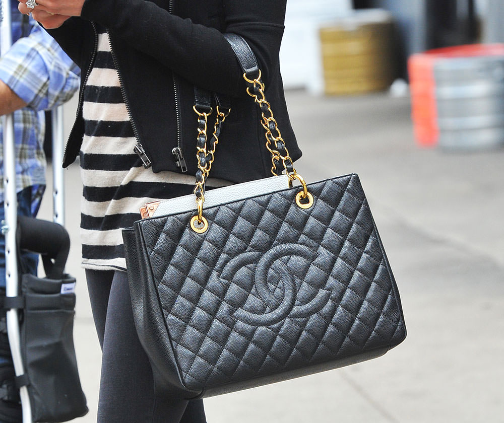 Chanel Grand Shopping Tote Luxity