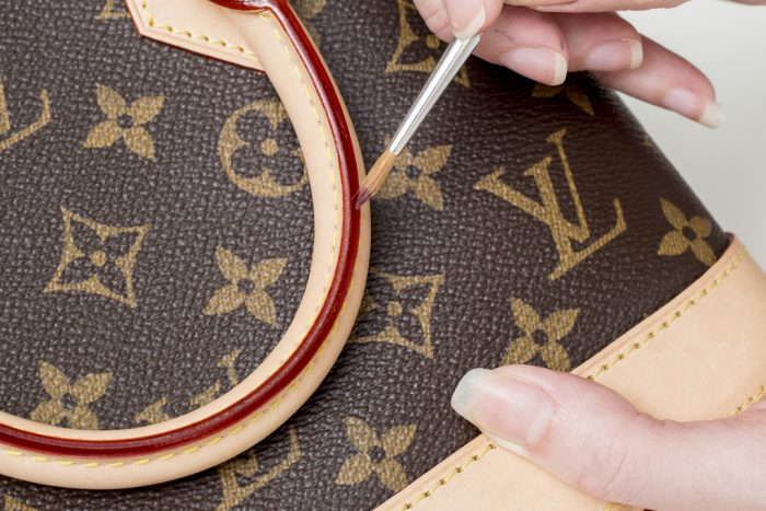 Repairing Louis Vuitton Handbag