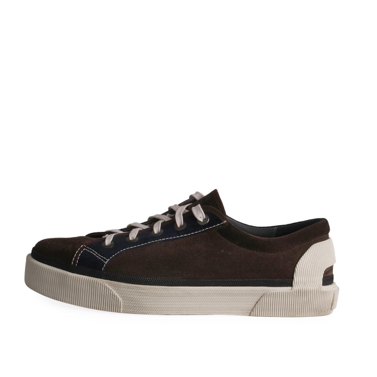 chaussures de sport 9ebf6 3ec7d LANVIN Suede Basket Oxford Sneakers Bicolor - S: 46 (11)