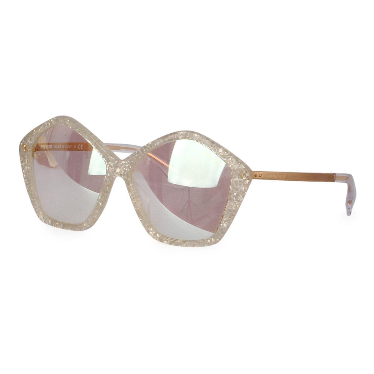 9b84194916c MIU MIU Sunglasses SMU 11N Reflective Crystal