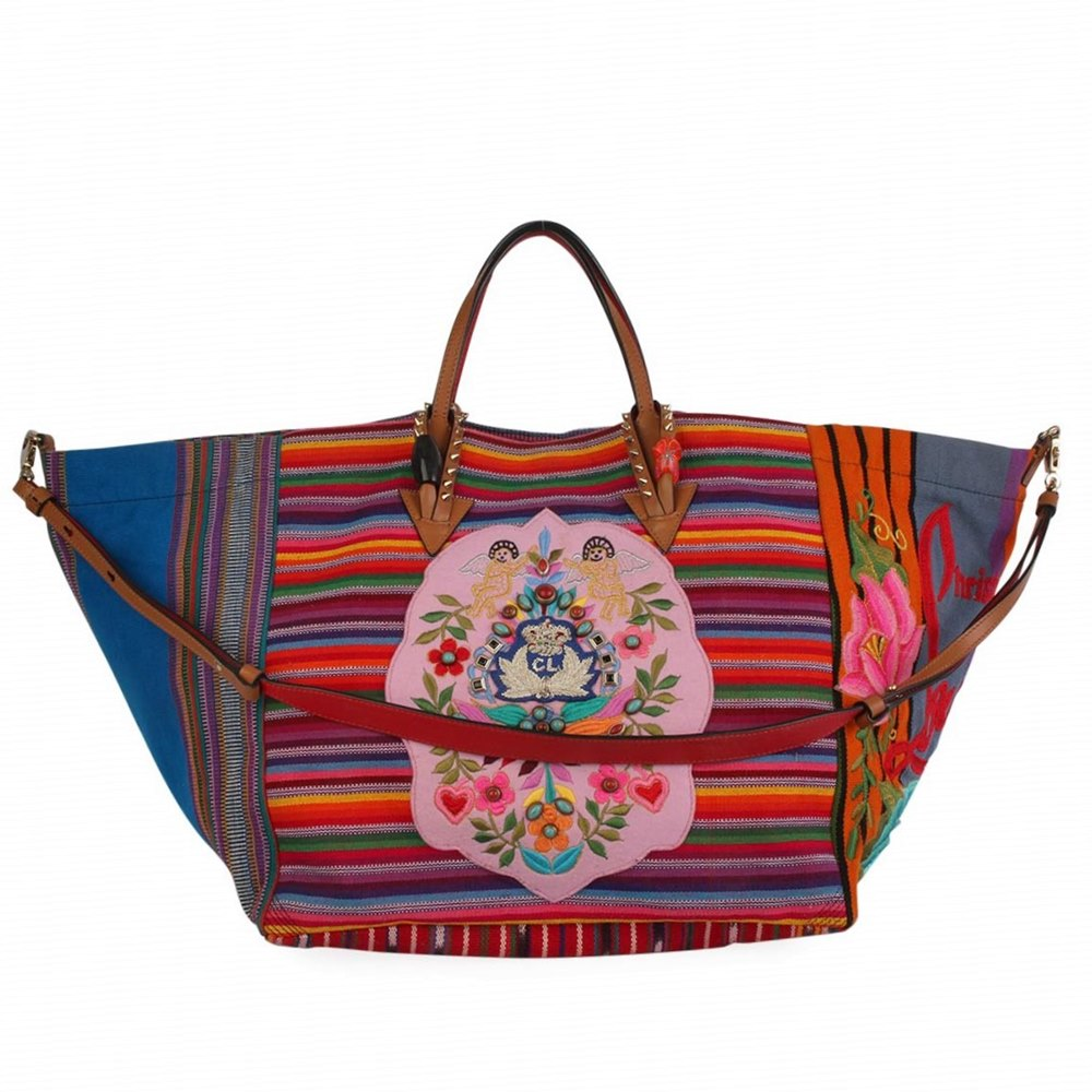 653bca50b1 CHRISTIAN LOUBOUTIN Mexicaba Tote Multicolor - Limited Edition | Luxity