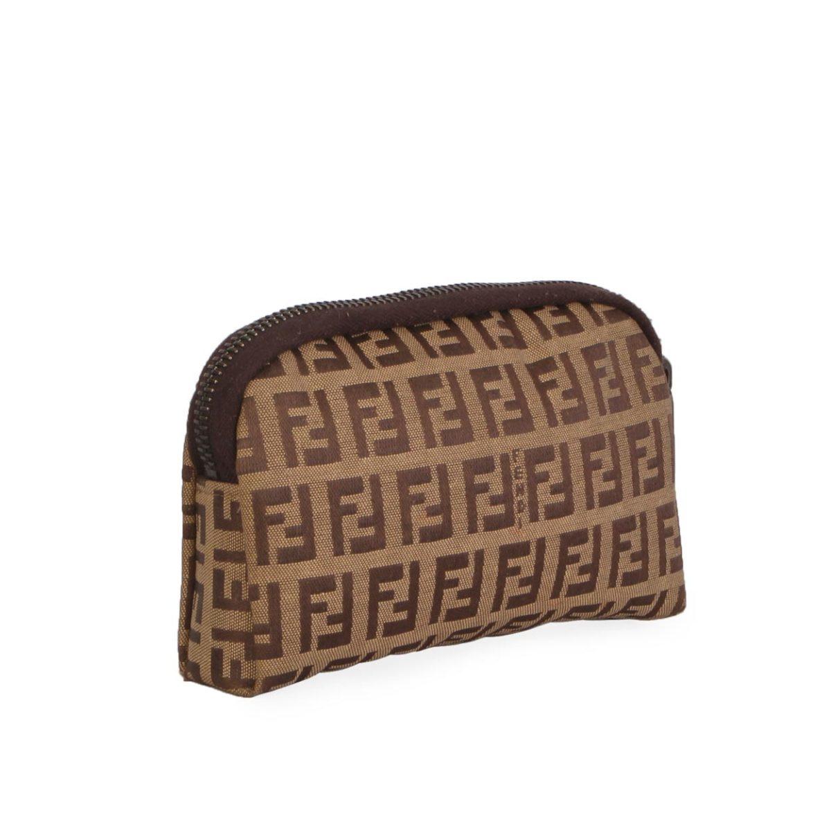 FENDI Zucchino Cosmetic Pouch  6be431914880c