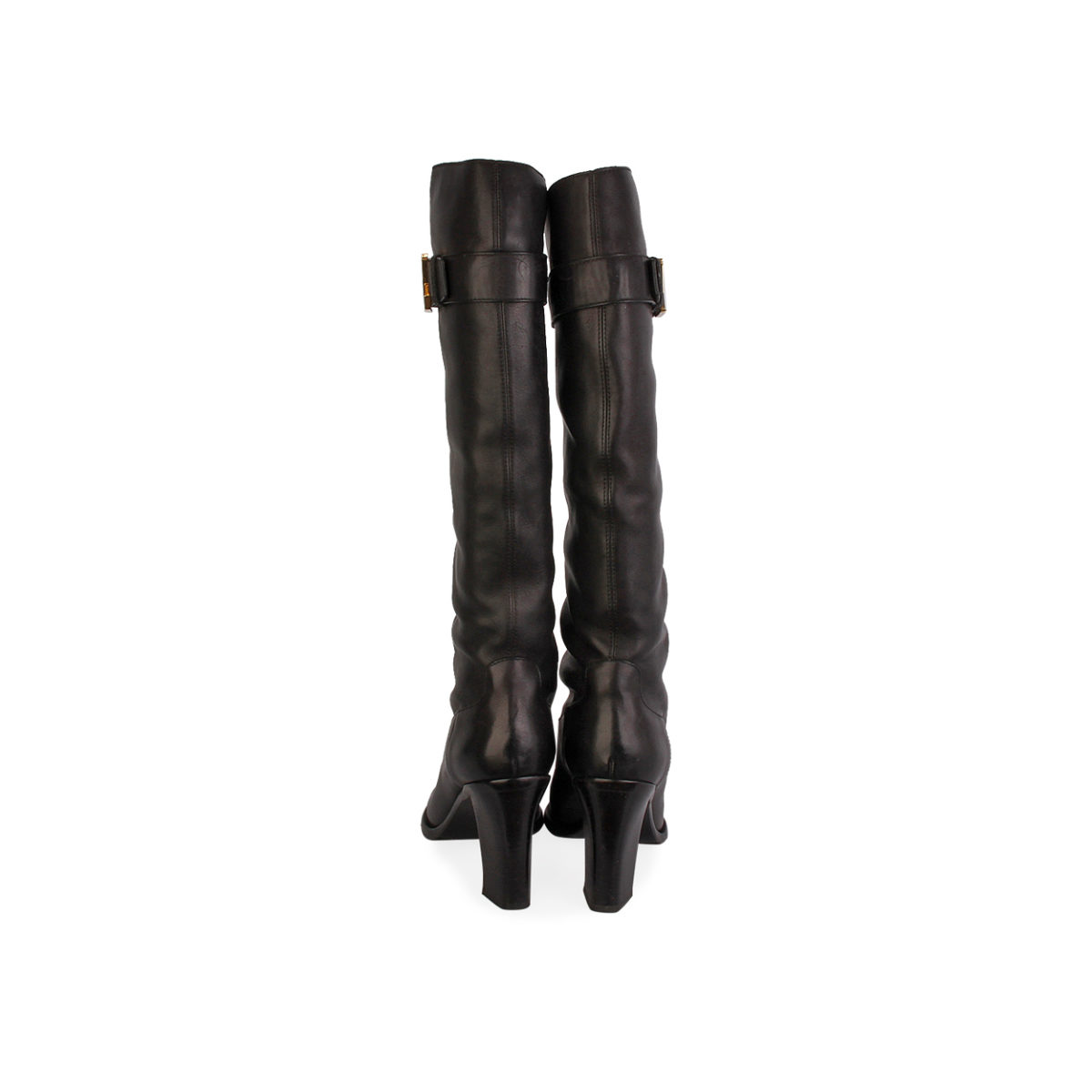 617cc3e43d3 LOUIS VUITTON Legacy Leather Boots Black - S: 41 (7.5)