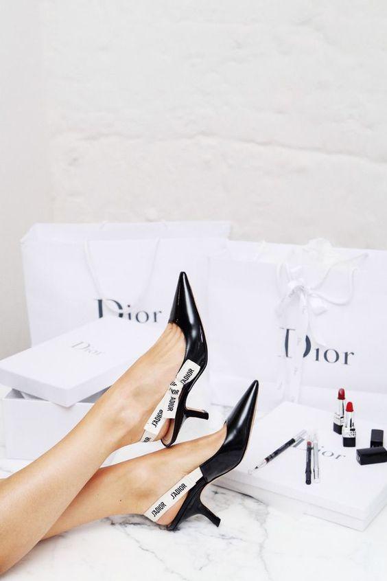 Christian Dior Summer Kitten Heel