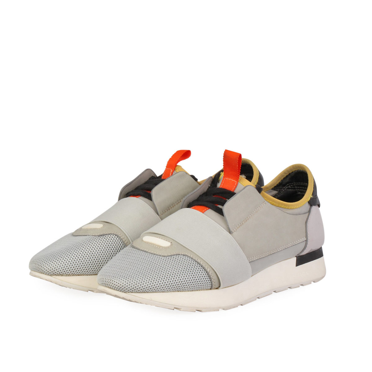 bc2697d98e4de BALENCIAGA Race Runners Sneakers Grey - S  37 (4)