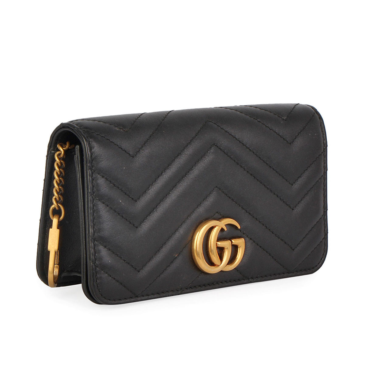 5d186628a678 Gucci Black Marmont Mini Matelasse Crossbody Bag   Stanford Center ...
