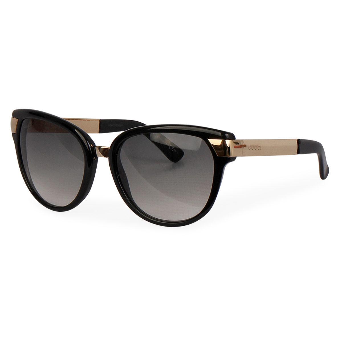 eacbe130fda GUCCI Sunglasses GG ANWYR Black Gold