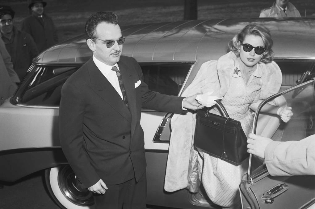 Grace Kelly with Hermes Handbag