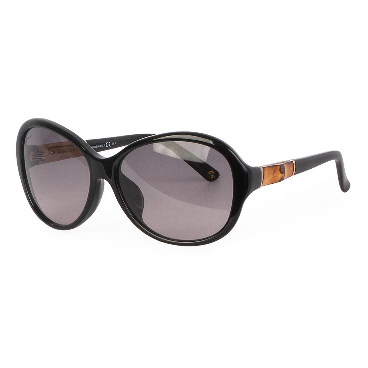 996877160a4 GUCCI Bamboo Sunglasses GG3684 F S Black