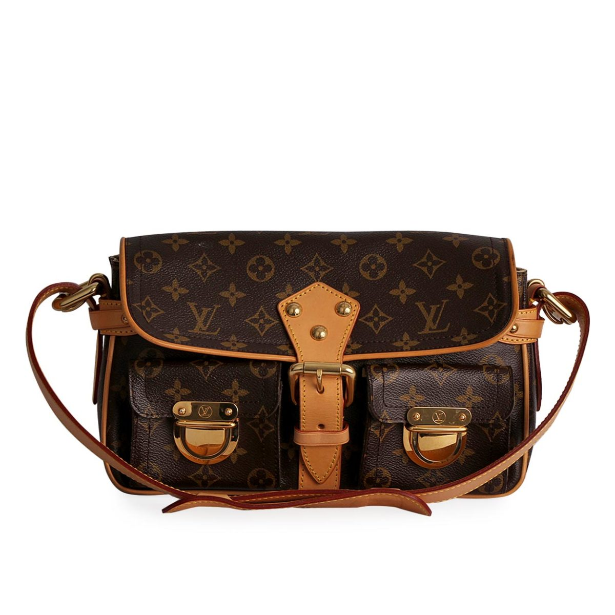 5c645cf3240 LOUIS VUITTON Monogram Hudson PM Bag | Luxity