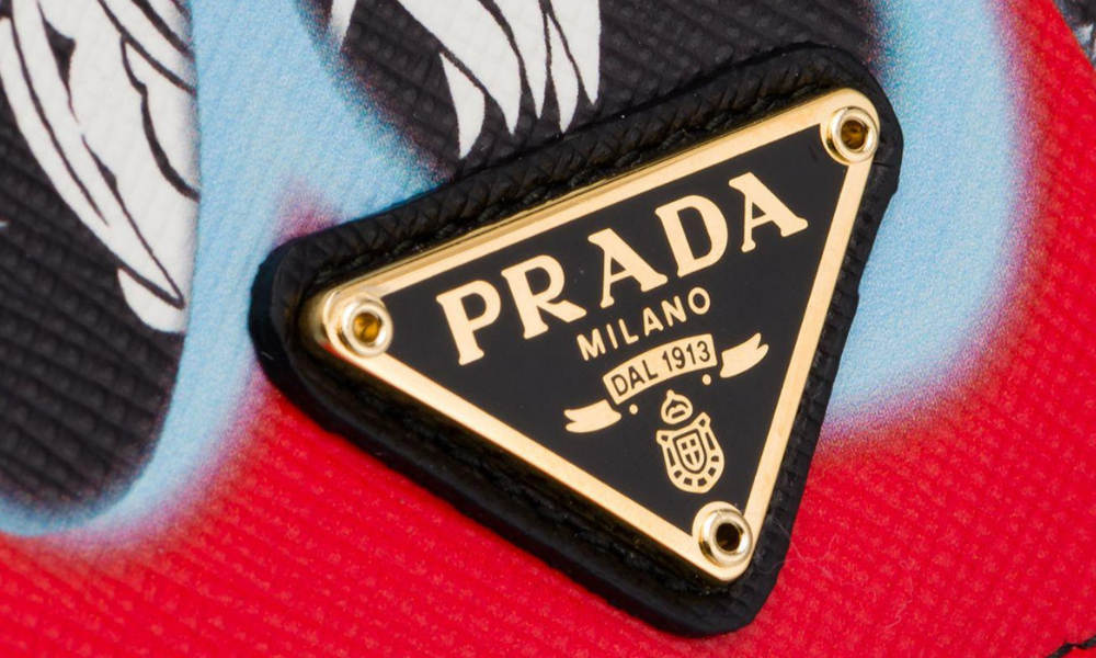 Looking at the Prada Logo