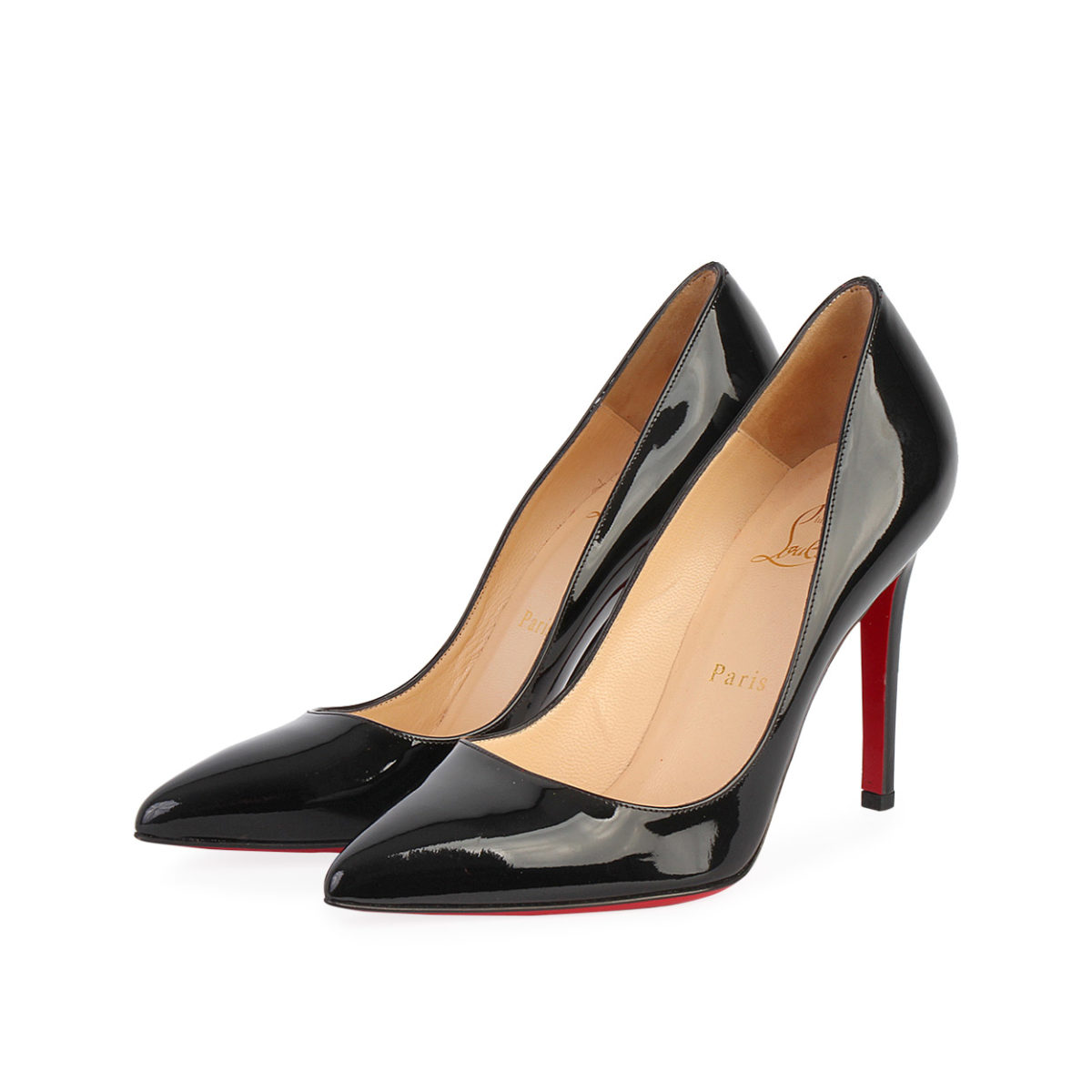 promo code 46630 98bb7 CHRISTIAN LOUBOUTIN Patent Pigalle Pumps Black - S: 37 (4)