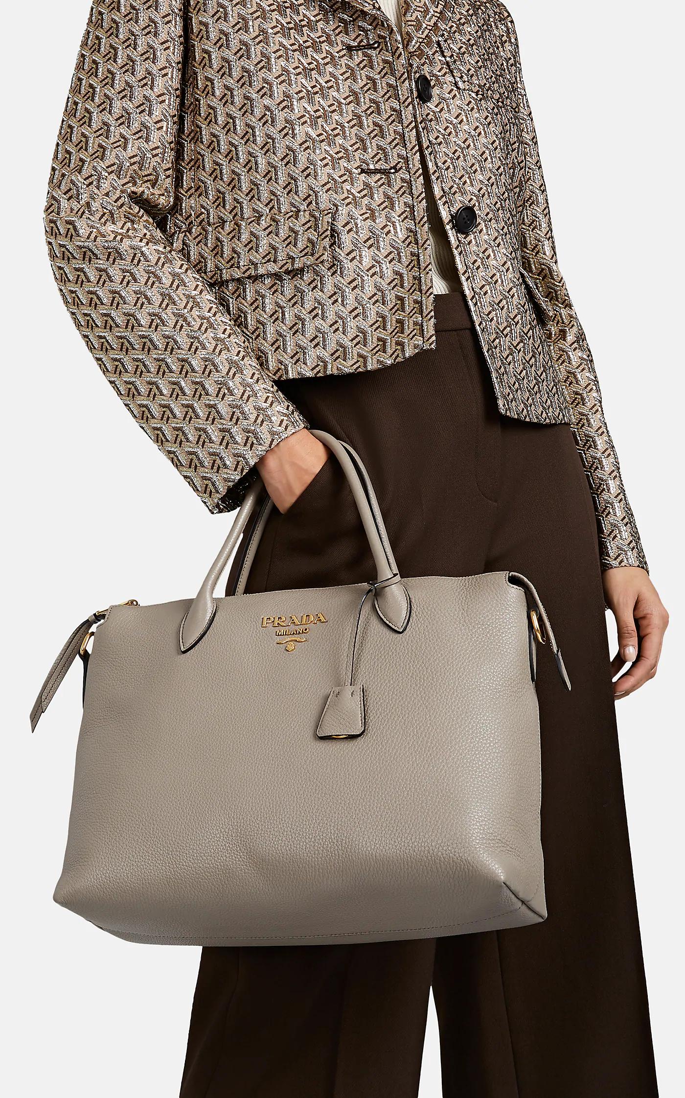 Daino Prada Tote Bag Grey