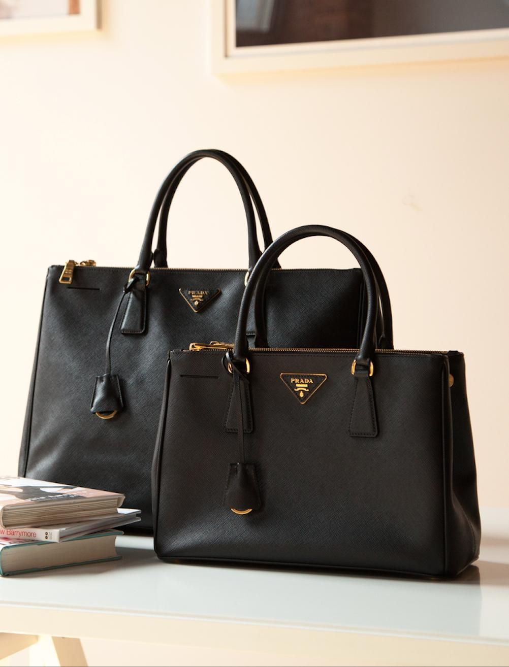 Prada Tote Bag Executive Bag
