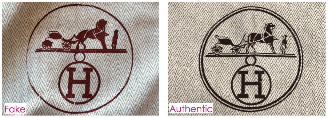 Hermes Dust Bag & Authenticity Card