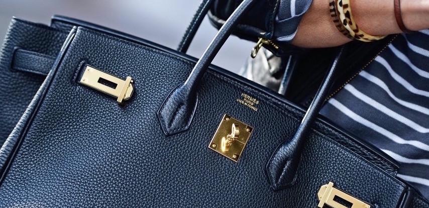 Birkin Bag Metallic Hardware