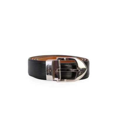 62d94be7a LOUIS VUITTON Epi Classique Belt Black – S: 95 (38)