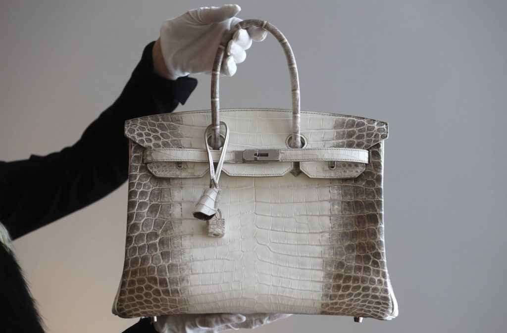 Designer bags are an investment