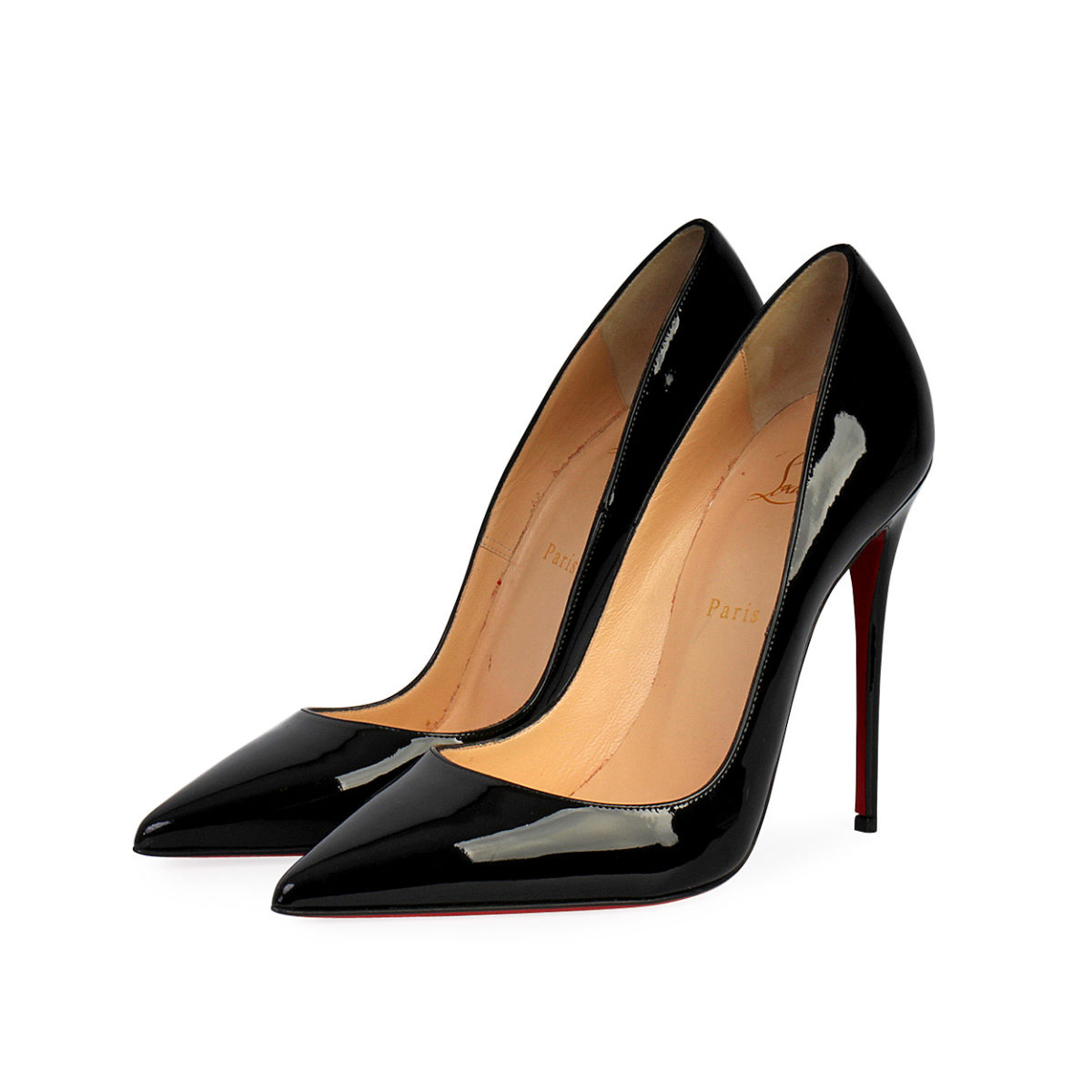 8dace808ee1 CHRISTIAN LOUBOUTIN Patent Leather So Kate 120 Pumps Black - S: 39 (6)